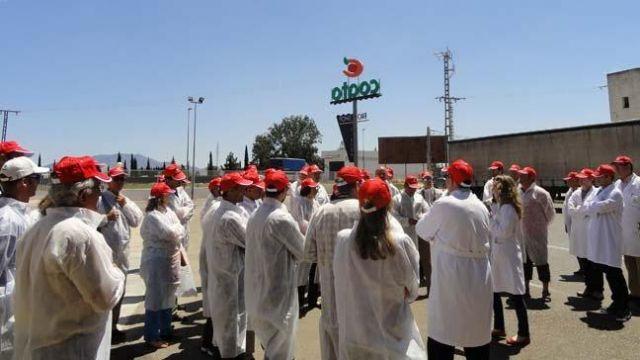 Visitan COATO los participantes en un Congreso Internacional sobre Almendra, Foto 3