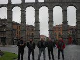 Un grupo de moteros del Custom Totana realizaron un viaje a Burgos, Bilbao y Segovia - 5