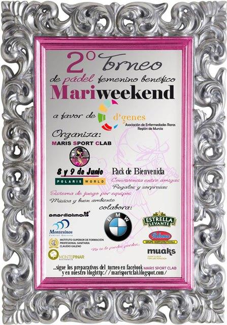 Maris Sport Clab organiza un torneo de pádel femenino a beneficio de D´Genes, Foto 2