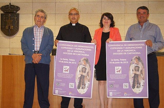 El Santuario de La Santa de Totana acoge la Convivencia de Hermandades, Cofradías y Agrupaciones de La Verónica de la Diócesis de Cartagena el próximo 16 de junio, Foto 1