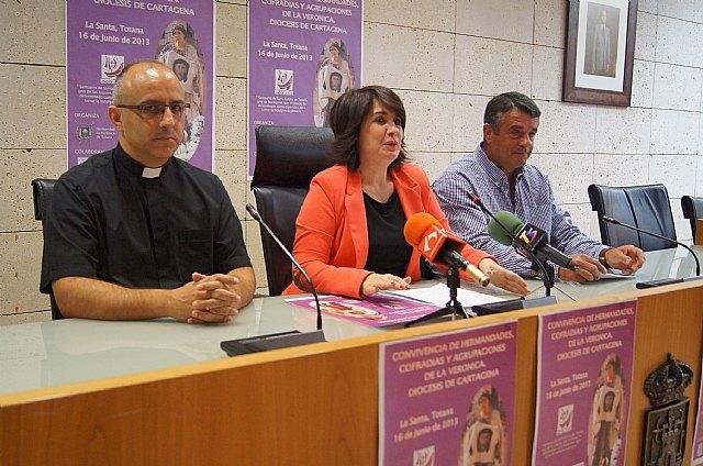 El Santuario de La Santa de Totana acoge la Convivencia de Hermandades, Cofradías y Agrupaciones de La Verónica de la Diócesis de Cartagena el próximo 16 de junio, Foto 2