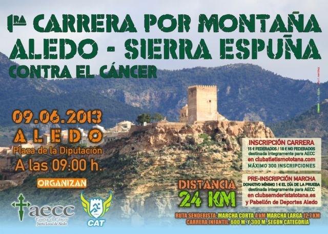 Los mejores corredores de la Región se dan cita el próximo domingo en la I Carrera por Montaña Aledo-Sierra Espuña, Foto 1