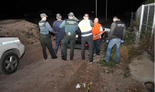 Detención de tres personas de Totana por tráfico de drogas en el marco de la Operación Michelangelo, Foto 1