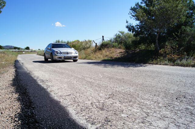 La concejalía de Infraestructuras solicita a la Dirección General de Medio Rural que incluya en el plan de pavimientación regional los caminos El Portón, Los Yesares, El Bosque y Las Cabezuelas, Foto 1