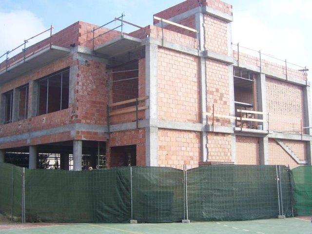 El AMPA del Colegio Comarcal Deitania exige al ayuntamiento la finalización de las obras de cuatro aulas para el inicio del curso escolar 2013-2014, Foto 1