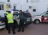 Guardia Civil y Polic�a Local detienen a cinco personas por tr�fico de drogas en Totana y Alhama de Murcia