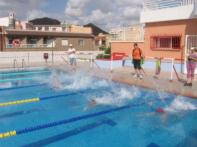 Los escolares de Mazarrón disputan mañana el acuatlón 2013, Foto 1