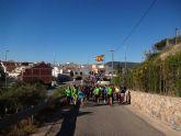 El Club Senderista de Totana colaboró en la ruta senderista llevada acabo en Aledo
