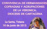 El Santuario de La Santa de Totana acoge la convivencia de hermandades, cofradías y agrupaciones de La Verónica de la Diócesis de Cartagena este próximo domingo