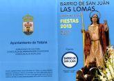 Las fiestas del barrio de San Juan en Las Lomas de El Paretón se celebran del 22 al 24 de junio
