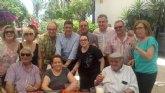 Los socialistas totaneros participan en Alcantarilla en el Día de la Rosa