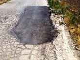 IU denuncia las chapuzas que el Gobierno del PP está llevando en los Caminos Rurales