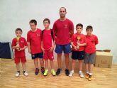 El C.D. Mazarrón Tenis de Mesa se alza campeón benjamín en el Campeonato Regional por Equipos