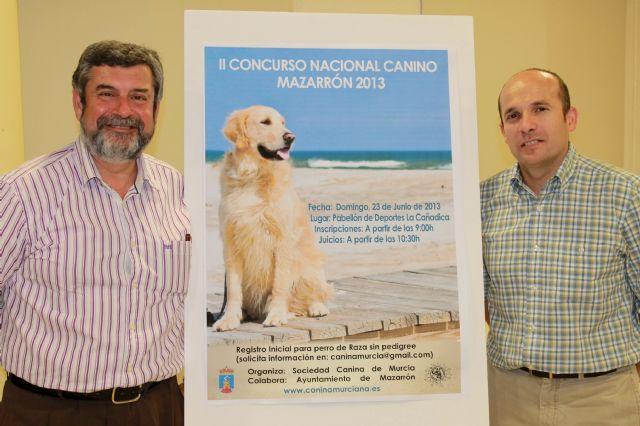 Este domingo Mazarrón celebra el II Concurso Nacional Canino, Foto 2
