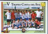 El Club Atlético Mazarrón subcampeón alevín en el V trofeo