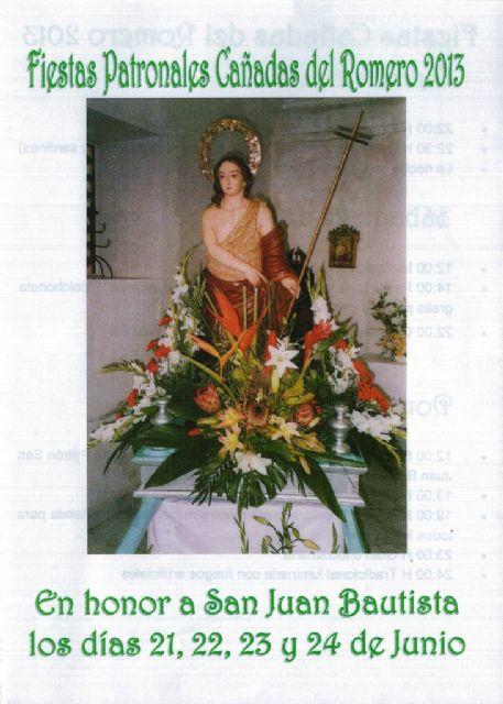 Cañadas del Romero rinde honores a San Juan Bautista a partir de este viernes, Foto 3