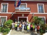 Manifestaci�n multitudinaria Contra la Externalizaci�n del trabajo en ElPozo Alimentaci�n en Alhama de Murcia