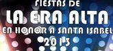 Las fiestas del barrio de la Era Alta en honor a Santa Isabel se celebran este próximo fin de semana