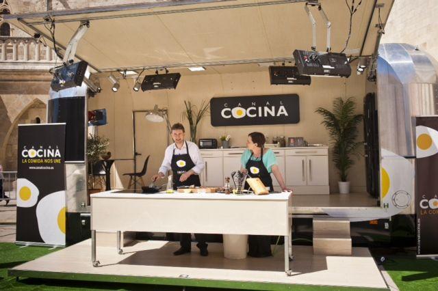 El Canal Cocina visita Mazarrón para promocionar el municipio y dar a conocer su gastronomía, Foto 1