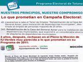 IU denuncia que el PP rechaza en el Pleno del Ayuntamiento una Moción para restaurar la casa del General Aznar