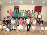 Actuación teatral de alumnos del IES Prado Mayor en el Centro Geriátrico La Purísima