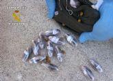 Operación TIRALÍNEAS II. La Guardia Civil sorprende a un traficante con hachís, marihuana y más de 28.000 euros en efectivo