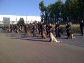 Un cabo de la Unidad Canina de la Policía Local de Totana participa como monitor en el I Curso de Guías Caninos de Perros Detectores de Drogas