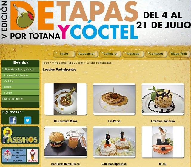 Hoy arranca la V ruta de la tapa y el cóctel por Totana, Foto 1