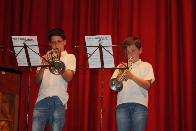 Se clausura el curso 2012/13 de la Escuela Municipal de Música de Totana, Foto 1