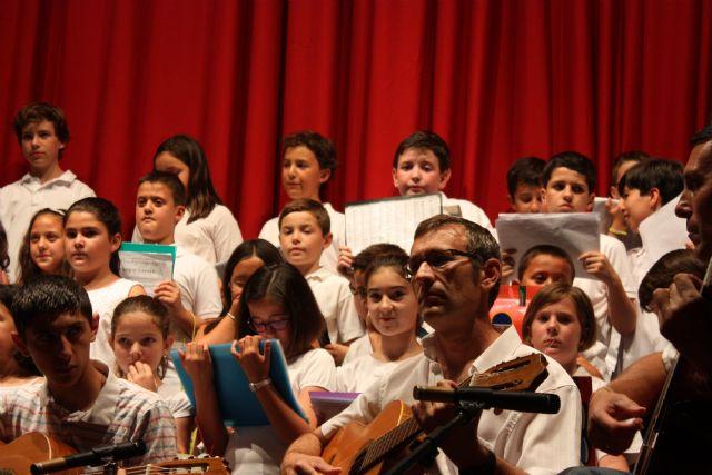 Se clausura el curso 2012/13 de la Escuela Municipal de Música de Totana, Foto 2