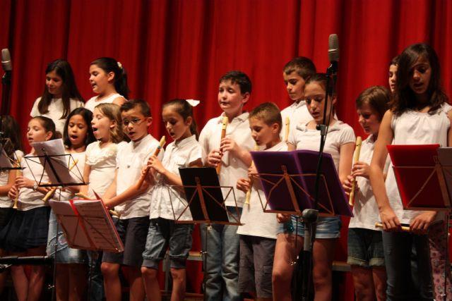 Se clausura el curso 2012/13 de la Escuela Municipal de Música de Totana, Foto 3