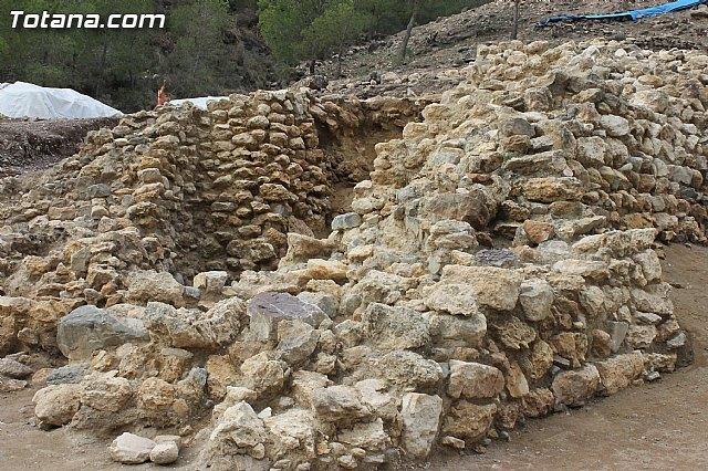 120.000 euros para consolidar y conservar los restos del yacimiento de La Bastida en Totana, Foto 1