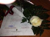 Flores para clausurar la campaña de voluntariado que se desarrolla a trav�s del Ayuntamiento