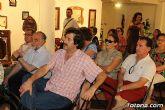 La historiadora totanera María Martínez ofreció la conferencia sobre el protagonismo que tuvo Totana en el proceso de islamización del sureste español - 9