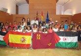 Campos destaca la solidaridad de las familias murcianas con los niños saharauis