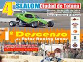 El Campeonato de Murcia de Slalom inicia el certamen en Totana coincidiendo con las fiestas en honor a Santiago Apóstol.