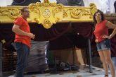 La Hermandad de Jesús en el Calvario y Santa Cena va a restaurar el trono del paso del Lavatorio de Pilato para que reluzca con mayor esplendor