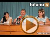 Rueda de prensa PSOE Totana y Consulado de Ecuador en Murcia.