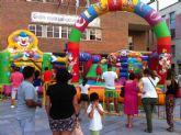 Los más pequeños podrán disfrutar de la gran fiesta infantil que se llevará a cabo este sábado 20 de julio en la Plaza de la Constitución