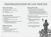 Pastrana celebra sus fiestas en honor a santiago apóstol del 25 al 28 de julio