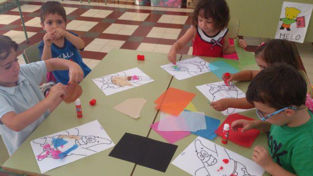 La Escuela de Verano 2013 finaliza con una excursión al polideportivo, Foto 1