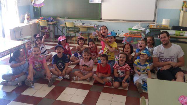 La Escuela de Verano 2013 finaliza con una excursión al polideportivo, Foto 2