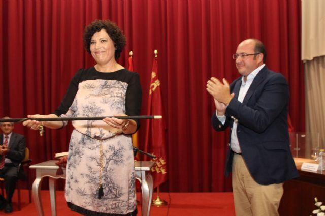 Mª Ángeles Túnez toma posesión como Alcaldesa de Puerto Lumbreras, Foto 1