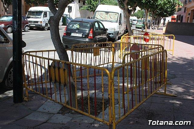 Se cortará durante varias semanas la calle General Aznar, una de las principales arterías de acceso al casco urbano, Foto 2
