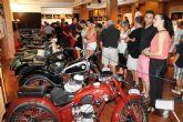 Magnífica acogida de la exposición de motos antiguas