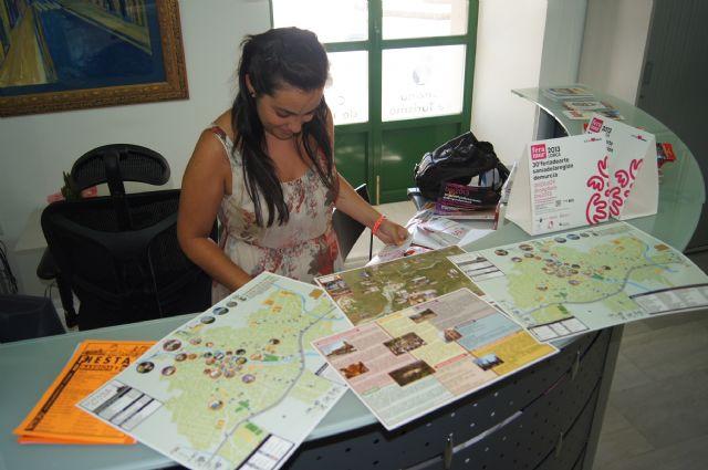 Más de dos mil consultas se han recibido en la Oficina de Turismo de Totana en los primeros siete meses del año, Foto 1