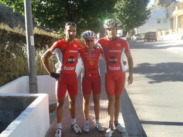 Juan Antonio del C.C. Santa Eulalia consigue un nuevo podium para el equipo totanero en Serón, Foto 2