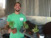 Alumnos del programa Actividades auxiliares en viveros y jardines realizan prácticas en empresas del municipio