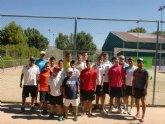 Comienza la Escuela de Tenis del Club de Tenis Totana