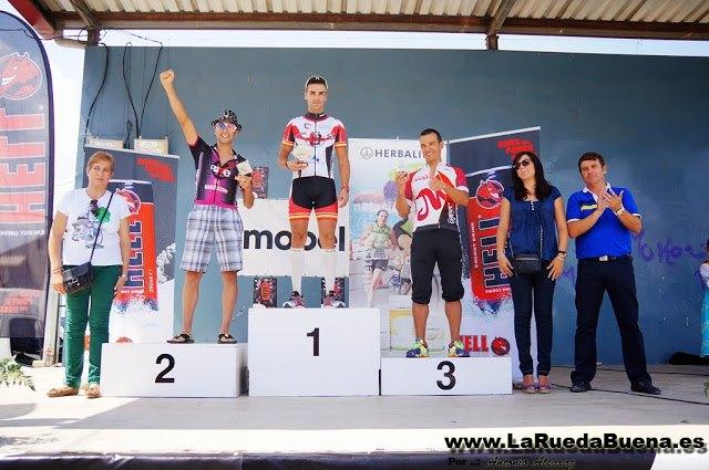 La Peña Las Nueve en el Campeonato Regional Btt Maratón., Foto 1